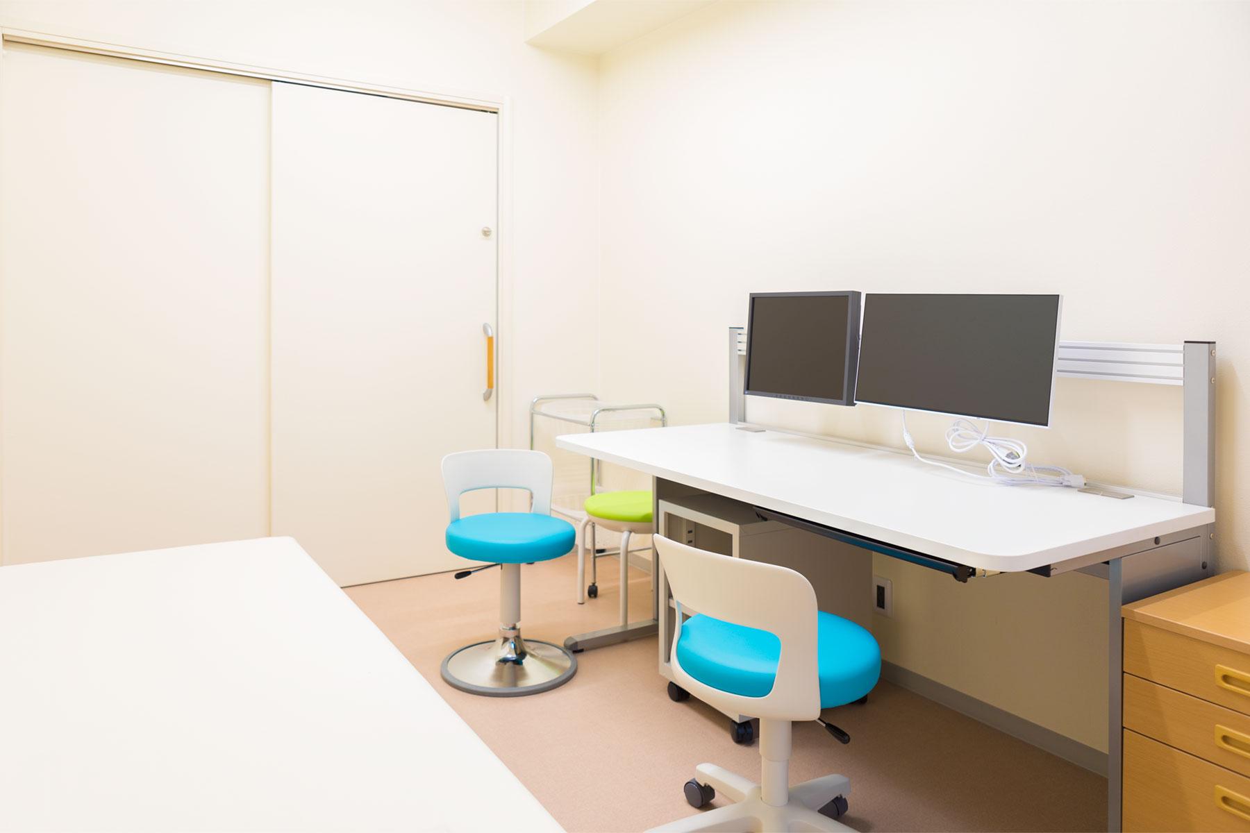湯川医院 診察室